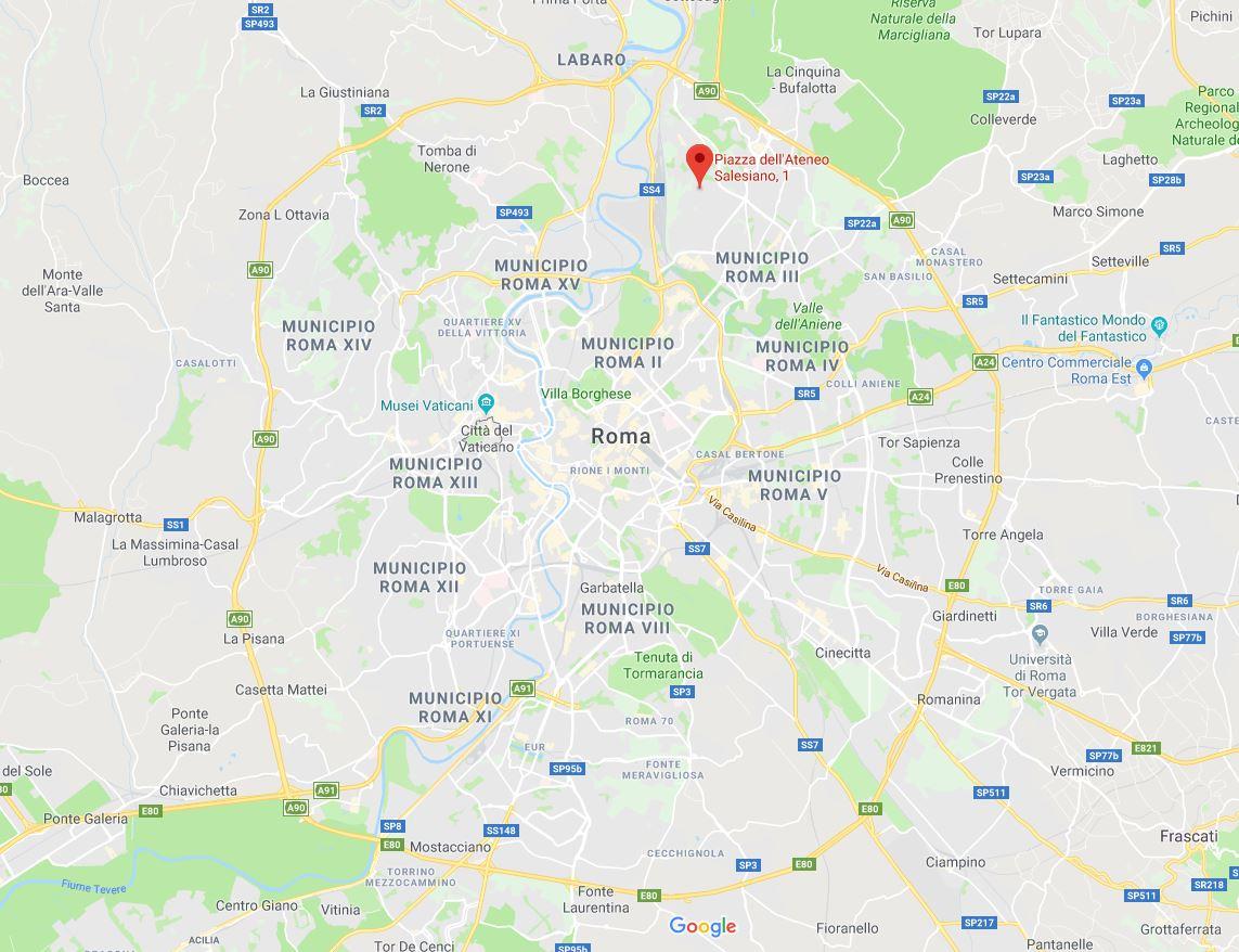 Mappa di Roma